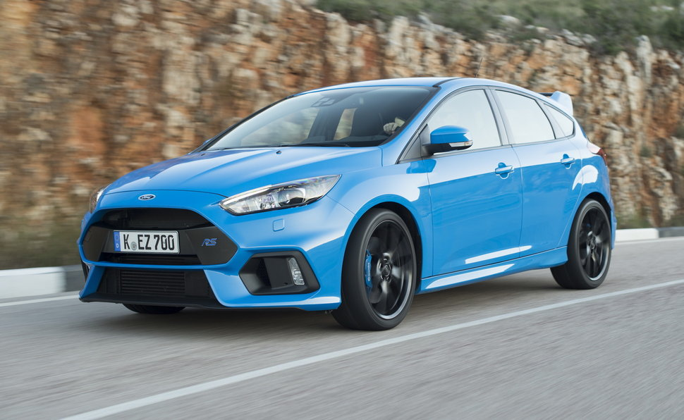 Arriva la Ford Focus RS